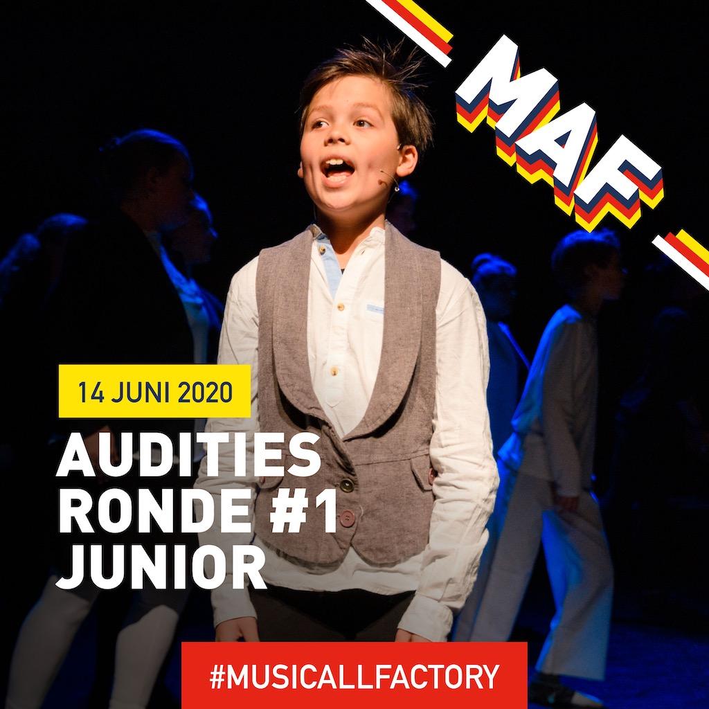 Auditie-oproep: vooropleiding MusicAllFactory Junior (12-14 jaar)