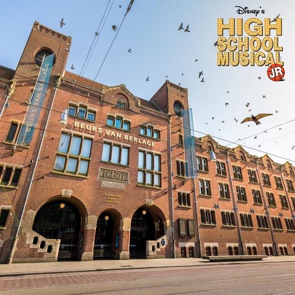 Zomer in de Beurs van Berlage met 'High School Musical'