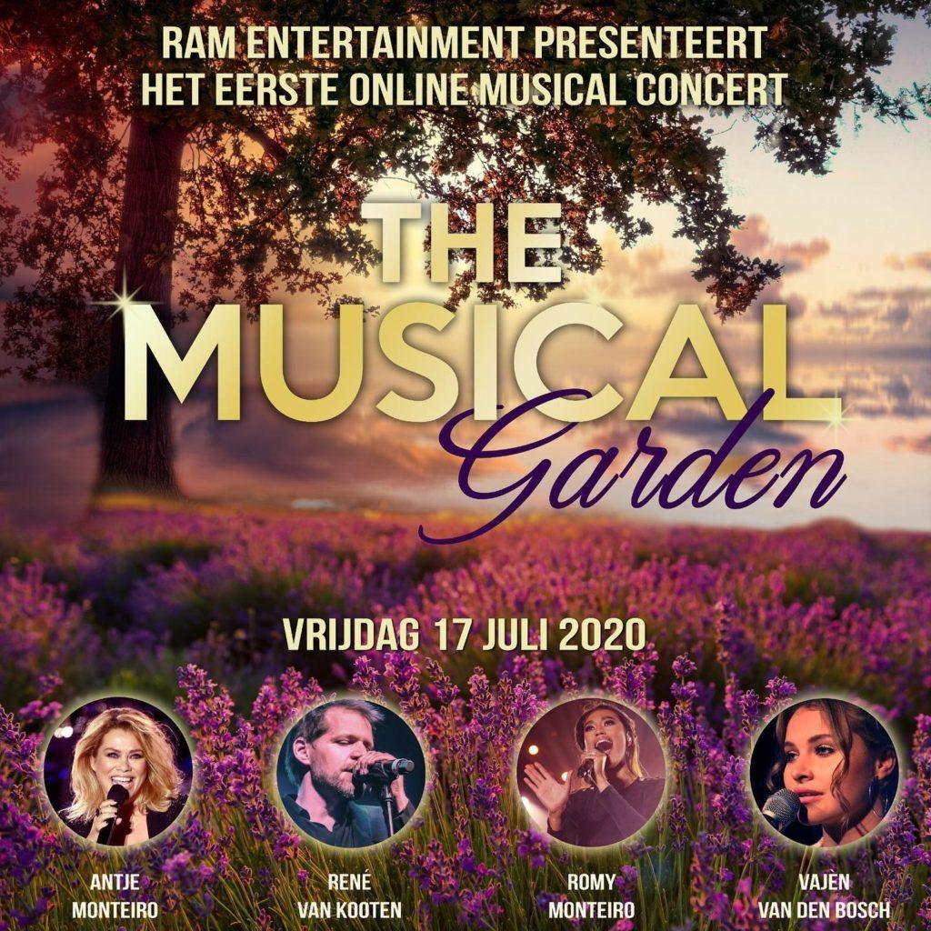 Intieme musicalavond met Antje Monteiro, Romy Monteiro, René van Kooten en Vajèn van den Bosch