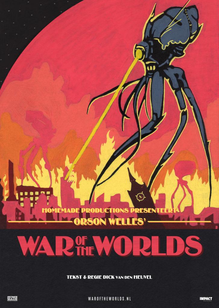 Rumoer rond 'War Of The Worlds' hoorspel wordt muziektheater