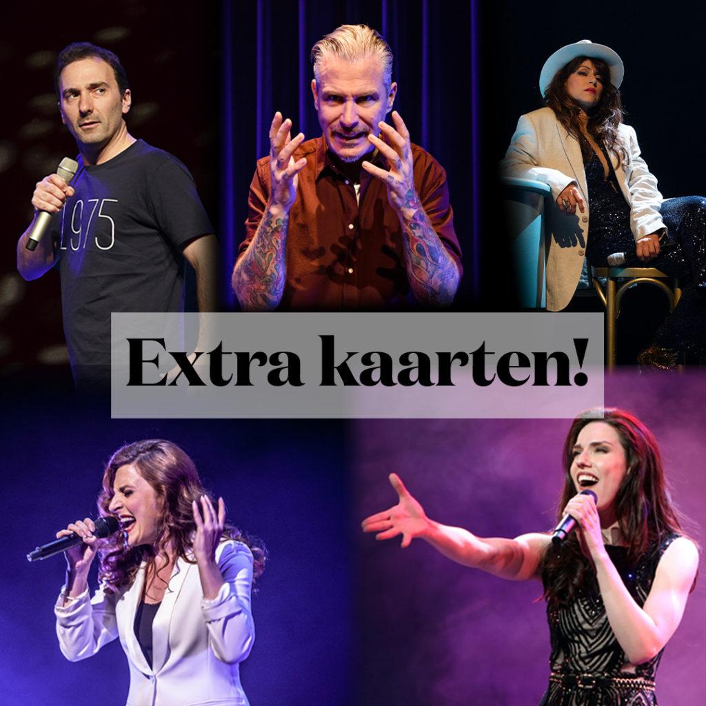 Extra kaarten voor uitverkochte shows Willemijn Verkaik