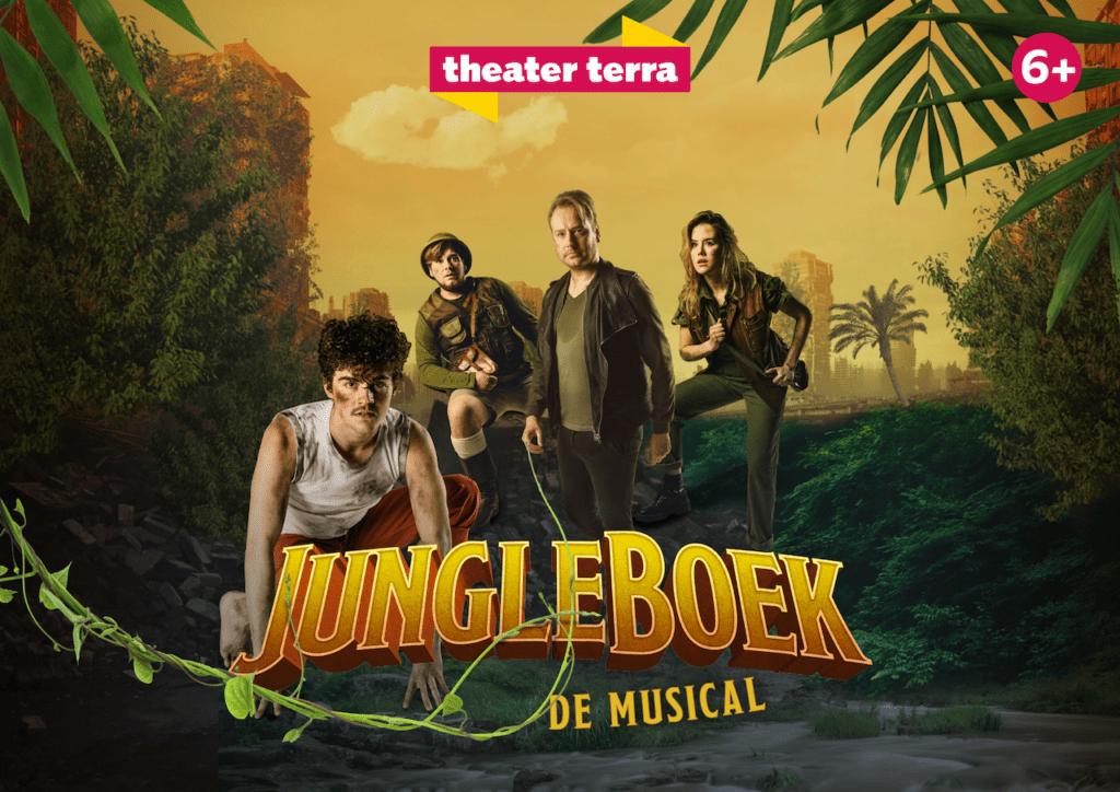 Theater Terra brengt komend seizoen nieuwe familiemusical JungleBoek