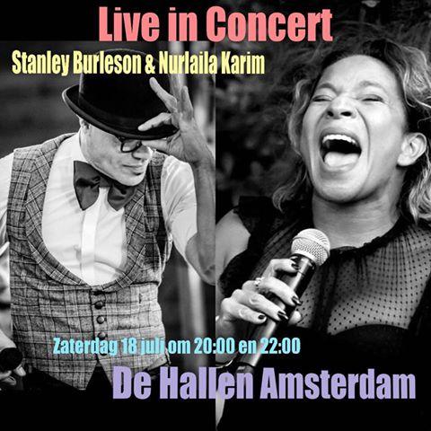 Stanley Burleson en Nurlaila Karom geven samen intiem concert in Pop Up Podium