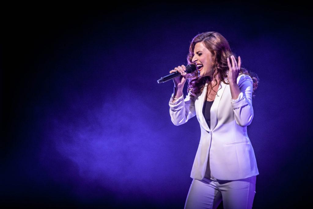 Willemijn Verkaik zingt 'positieve liedjes'