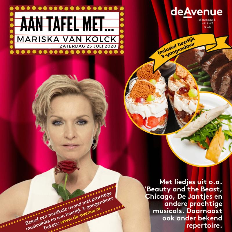 Aan tafel met... Mariska van Kolck