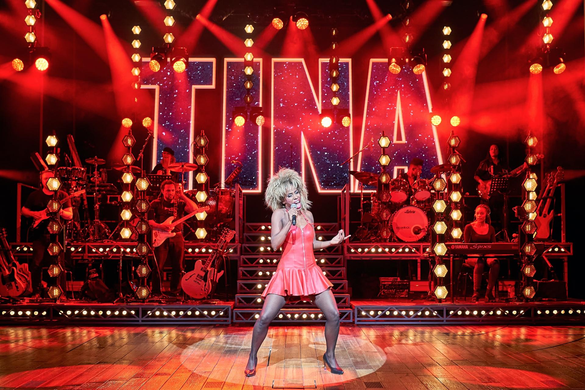 Castalbum voor Tina - De Tina Turner Musical'