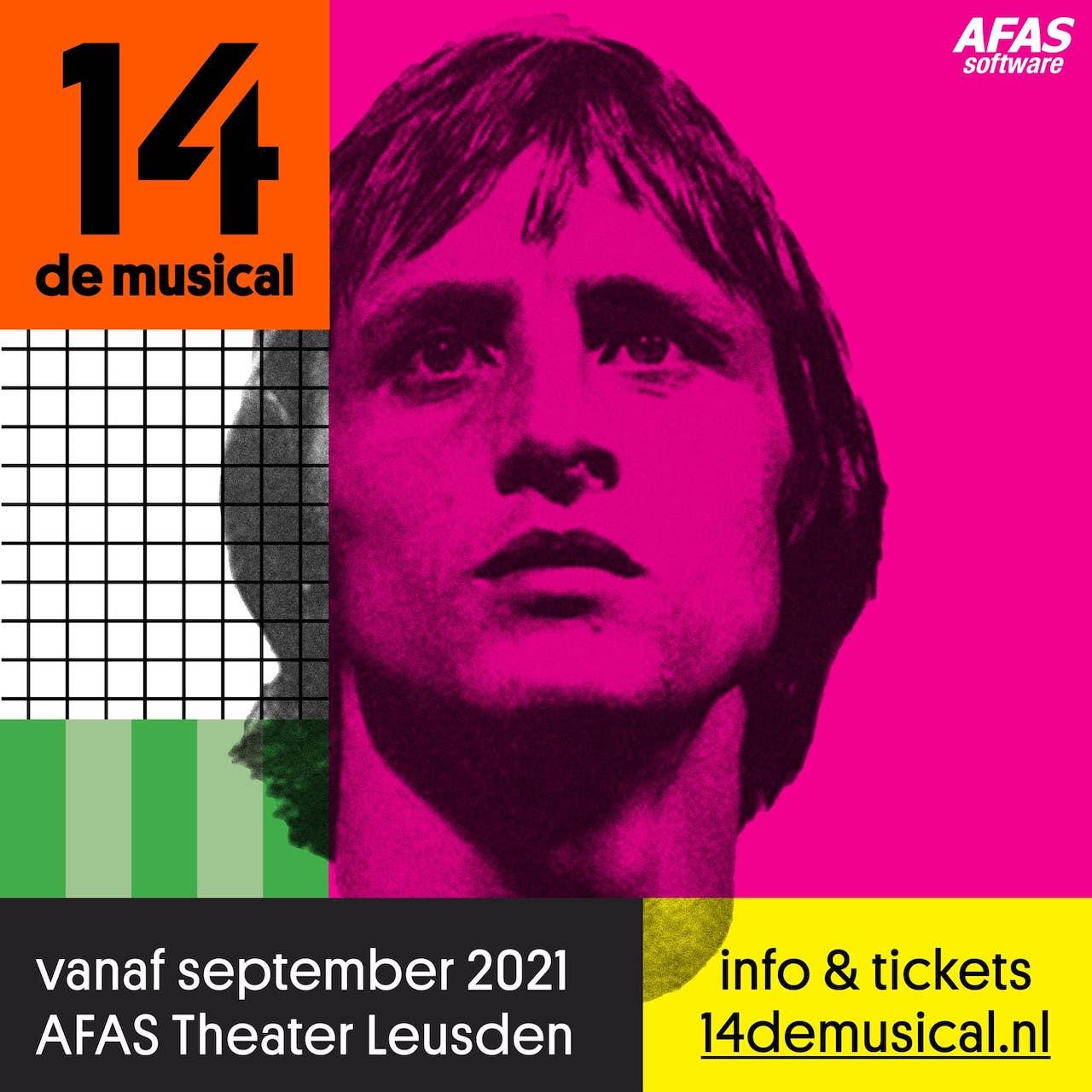Musical over Johan Cruyff volgend jaar in nieuw AFAS theater