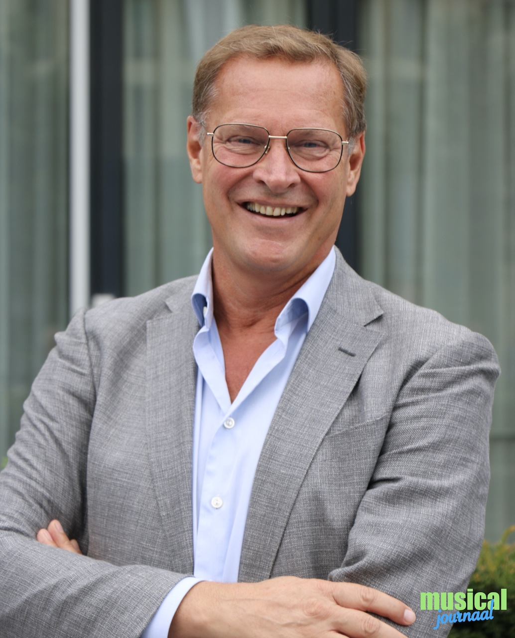Albert Verlinde neemt afscheid bij Stage Entertainment