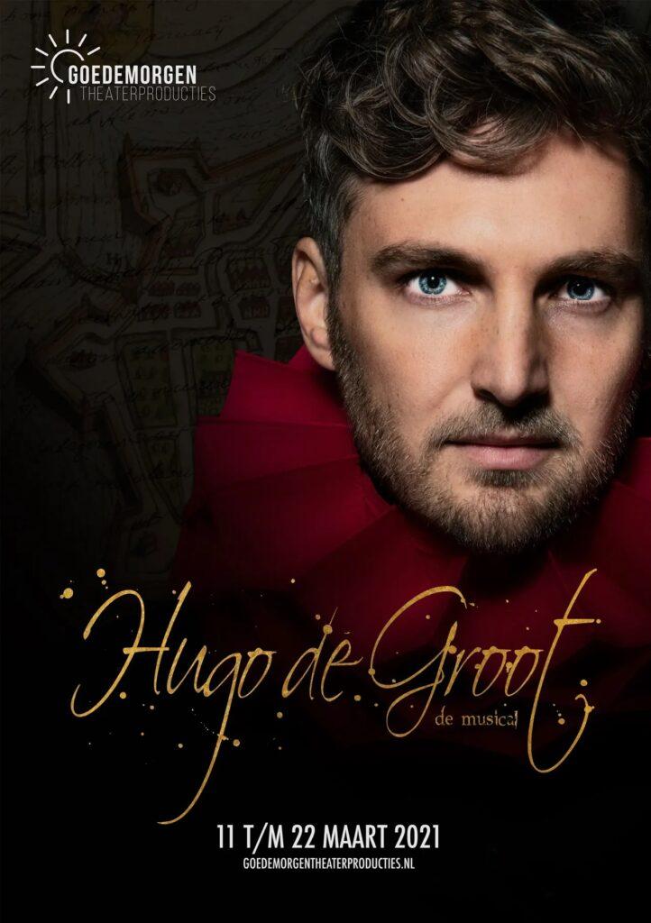 'Hugo de Groot, de musical' verplaatst naar juni 2021