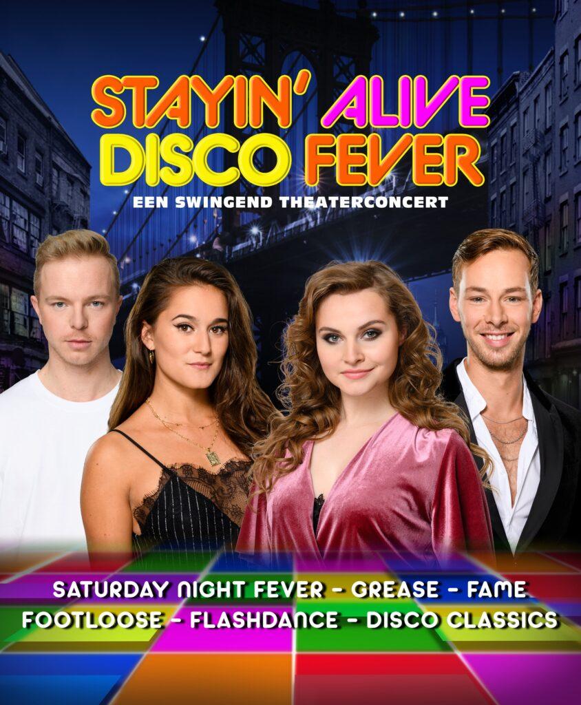 De Graaf & Cornelissen Entertainment bereidt swingend theaterconcert 'STAYIN' ALIVE Disco Fever' voor