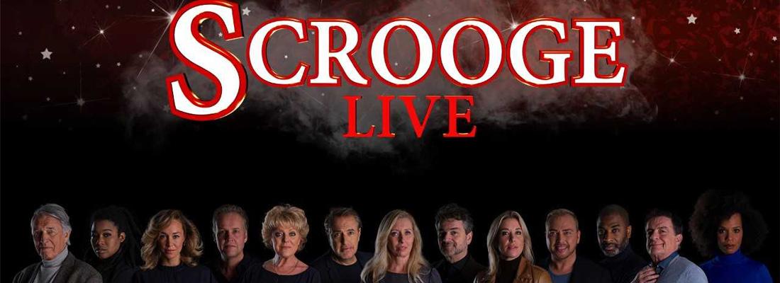 Simone Kleinsma, Jamai Loman en Anouk Maas in 'Scrooge Live'
