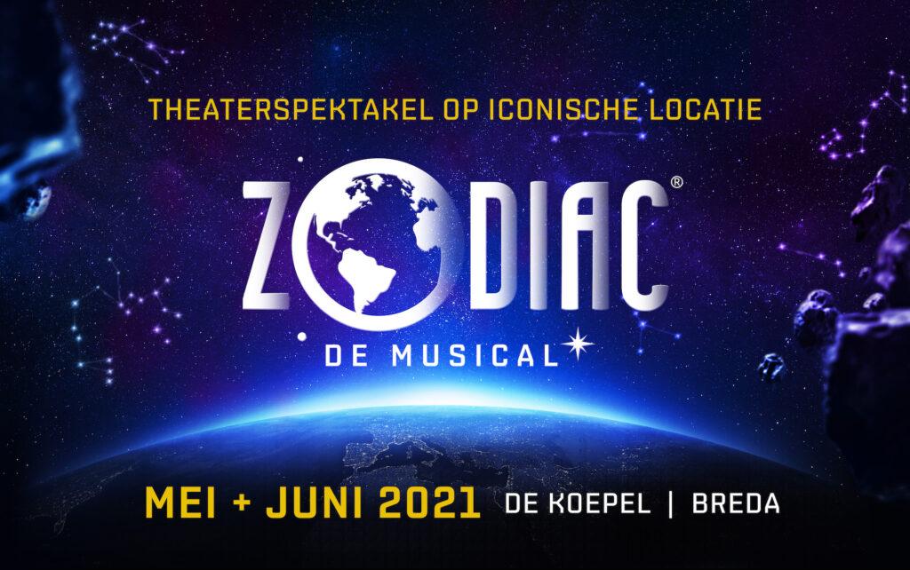 Hoofdrollen voor René van Kooten en Dominique de Bont in 'ZODIAC de musical'