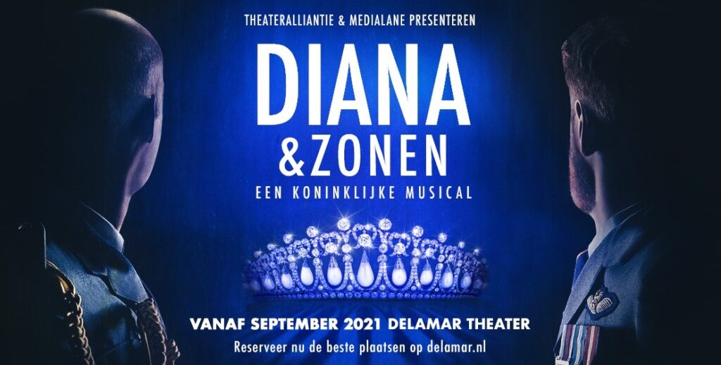 Freek Bartels en Jonathan Demoor in 'Diana & Zonen'