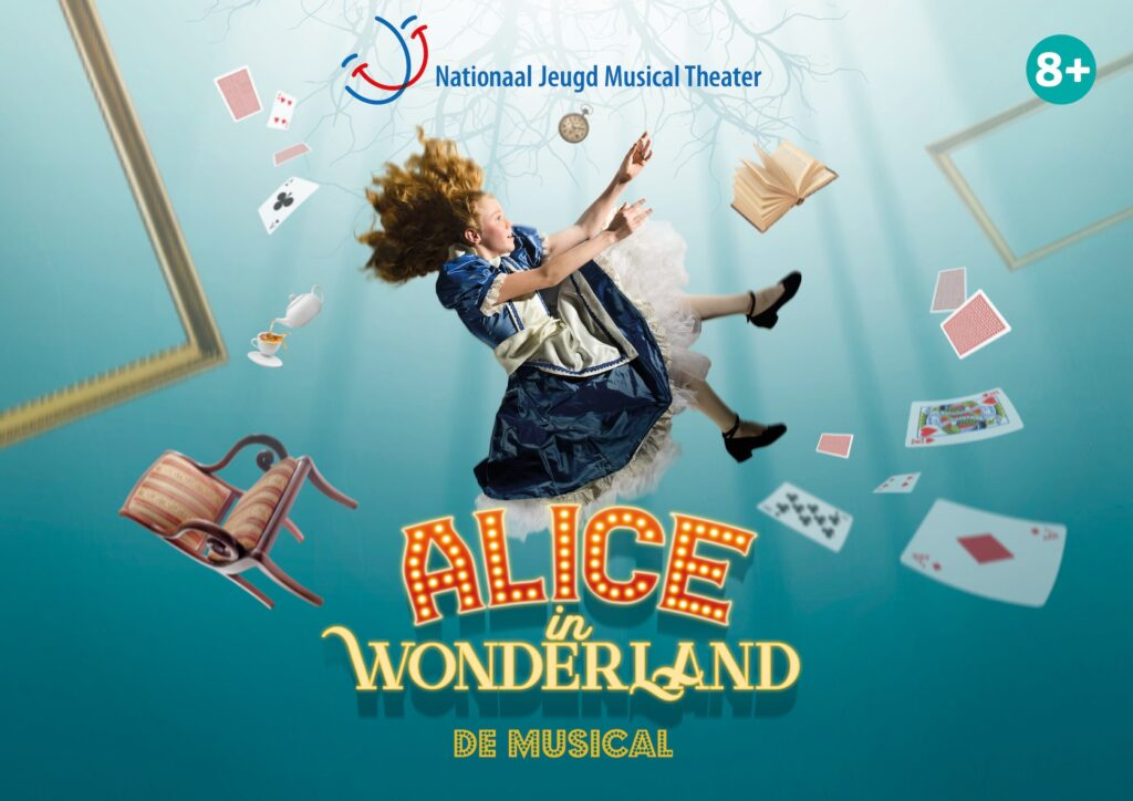 Nieuwe familiemusical 'Alice in Wonderland' komend seizoen te zien in de theaters