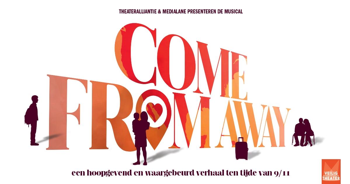 Kaarten voor openbare repetitie 'Come From Away' in de verkoop