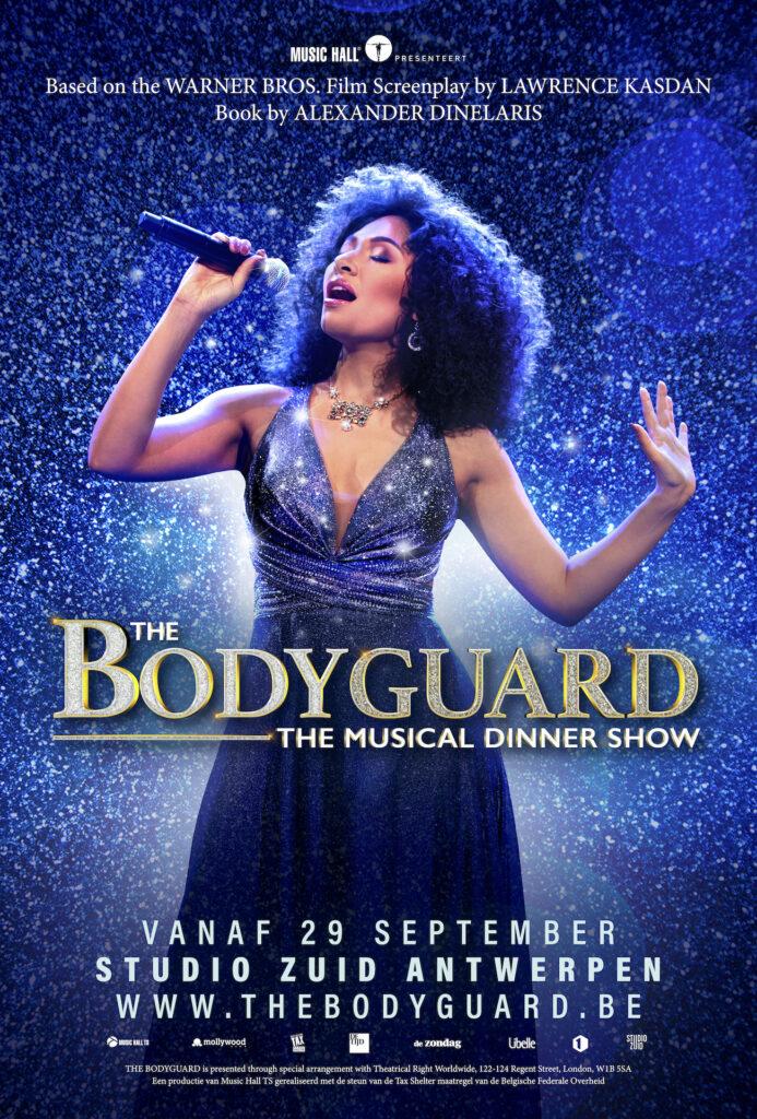 April Darby maakt Vlaams musicaldebuut met hoofdrol in 'The Bodyguard'