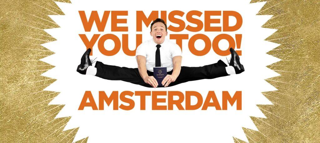 'Book of Mormon' keert terug naar Amsterdam!