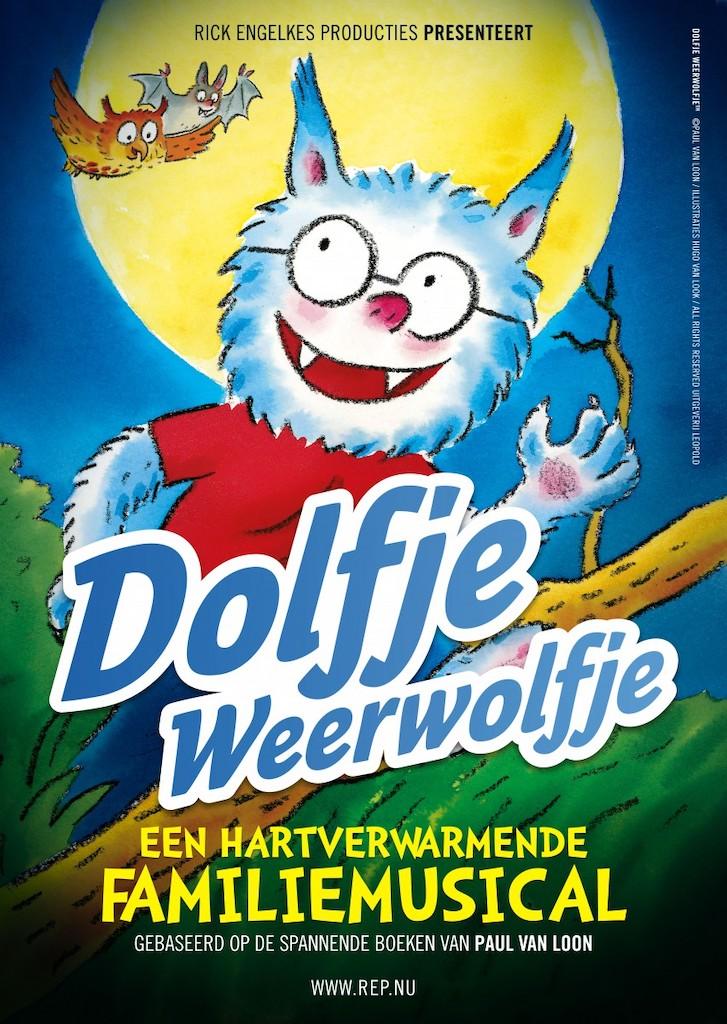 Rick Engelkes brengt Dolfje Weerwolfje terug in het theater